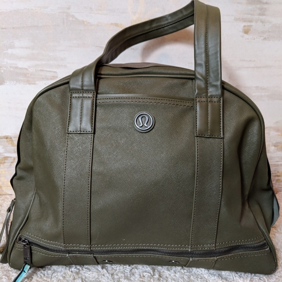 2508a1dde58 lululemon athletica Bags | Lululemon Om For All Tote Fatigue Green ...